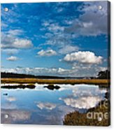 Clouds Flying Clouds Floating Acrylic Print