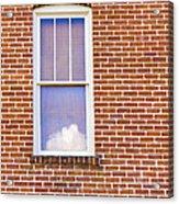 Clouds In My Window Acrylic Print
