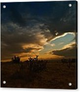 Clouds In New Mexico Acrylic Print