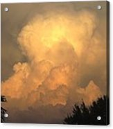 Clouds In The Evening II Acrylic Print