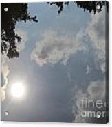Clouds In The River Acrylic Print