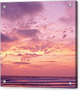 Clouds In The Sky At Sunset, Pacific Acrylic Print