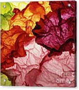Clouds Of Colors Acrylic Print