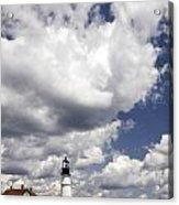 Clouds Of Glory - Portland Headlight Acrylic Print