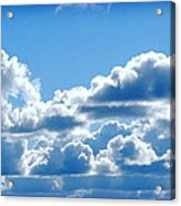 Clouds Of Glory II Acrylic Print