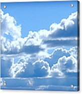 Clouds Of Glory Acrylic Print