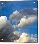 Clouds Of Today Acrylic Print