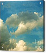 Clouds Of Tomorrow Acrylic Print