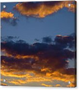 Clouds Of Tranquility. Acrylic Print