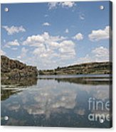 Clouds On Water Acrylic Print