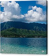 Clouds Over An Island, Hana, Maui Acrylic Print