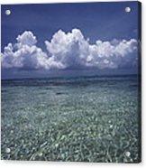 Clouds Over Bora Bora Acrylic Print