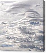 Clouds Over Caughlin Ranch Acrylic Print
