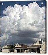 Clouds Over Clermont Acrylic Print