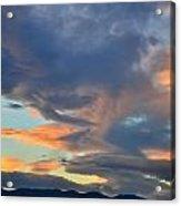 Clouds Over Colorado Acrylic Print