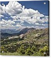 Clouds Over Crested Butte Acrylic Print