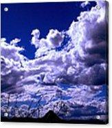 Clouds Over Gavilan Peak Acrylic Print