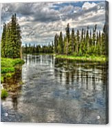 Clouds Over Henry's Fork Acrylic Print