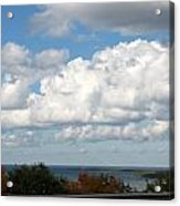 Clouds Over Lake Michigan Acrylic Print