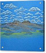 Clouds Over Lassen Acrylic Print