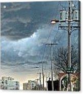 Clouds Over Philadelphia Acrylic Print