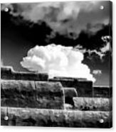 Clouds Over Santa Fe Acrylic Print