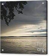 Clouds Over Seneca Lake Acrylic Print