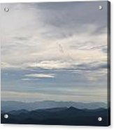 Clouds Over The Appalachians Acrylic Print