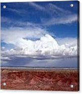 Clouds Over The Badlands Acrylic Print