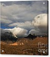 Clouds Over The Organ Mountains Acrylic Print