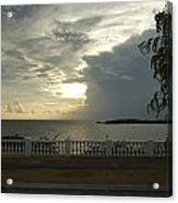 Clouds Over The Sea Acrylic Print