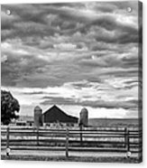 Clouds Over The Upper Midwest Acrylic Print
