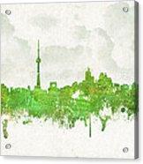 Clouds Over Toronto Canada Acrylic Print