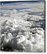 Clouds Over Wyoming Acrylic Print