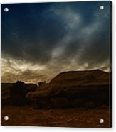 Clouds Scape Acrylic Print