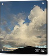 Clouds With Arms Acrylic Print