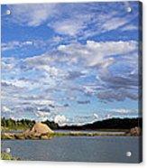 Cloudscape Panorama Acrylic Print