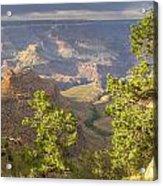 Cloudy Bright Angel Trail II Acrylic Print