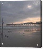 Cloudy Dawn 1  3-15-15 Acrylic Print