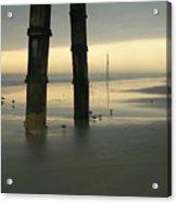 Cloudy Dawn 2  3-15-15 Acrylic Print