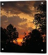 Cloudy Dawn Acrylic Print