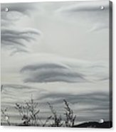 Cloudy Day Acrylic Print by Yvette Pichette