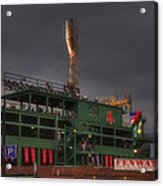 Cloudy Fenway Park - Boston Acrylic Print