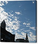 Cloudy In Cleveland Acrylic Print