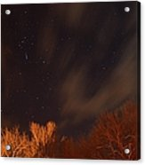 Cloudy Nights Acrylic Print