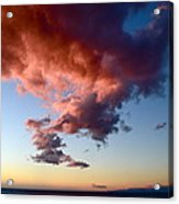 Cloudy Perspective Acrylic Print