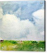 Cloudy Summerday Acrylic Print