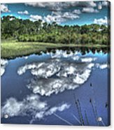 Cloudy Waters Acrylic Print