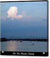 Clover Cary Bridge 2 Acrylic Print by David Lester