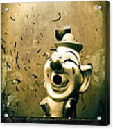 Clown Games  Acrylic Print by Colleen Kammerer